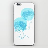 percy jackson iPhone & iPod Skins featuring Percy Age Difference by alkart