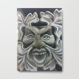 Stoneface Metal Print
