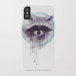 Hello Raccoon! iPhone Case