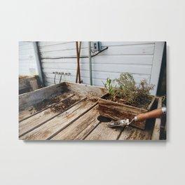 just garden things Metal Print