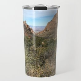 Window in Chisos Basin Travel Mug