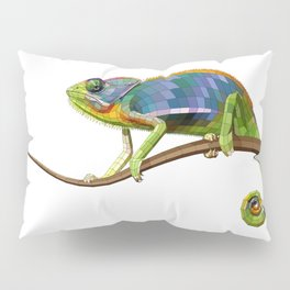 The Chameleon (Colored) Pillow Sham