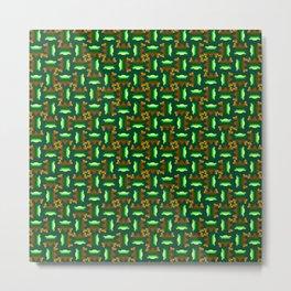 Sawtooth Pattern Metal Print