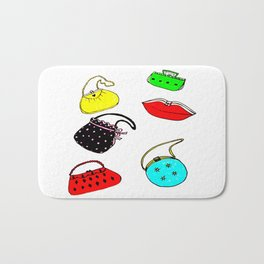 Purses Bath Mat