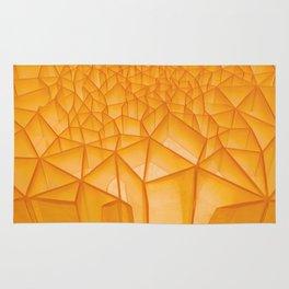 Geometric Plastic Rug