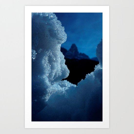Snowed in #1 #art #society6 Art Print