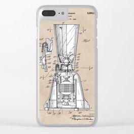 patent art Landgraf Food Mixer 1939 Clear iPhone Case