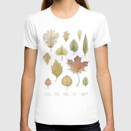 Autumnal Cartography T-shirt