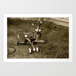Tricycles  Art Print