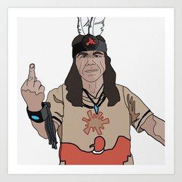 Mato at Standing Rock Art Print