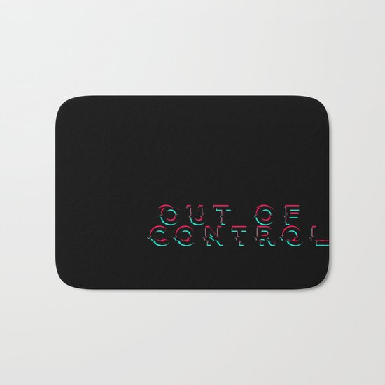 Out Of Control Bath Mat