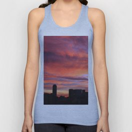 City sunset Unisex Tank Top