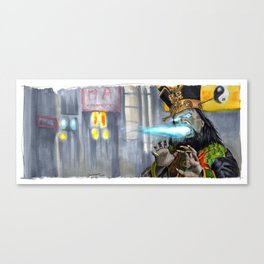 Big Trouble in Little China - Lo Pan Canvas Print