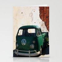 vw Stationery Cards featuring VW GRUNGE by Joedunnz