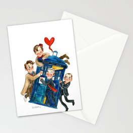 Doctor Who Hug Stationery Cards