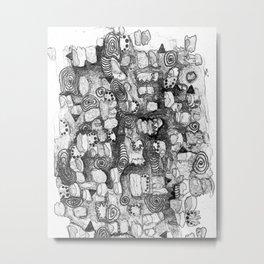 Contemporary Metal Print