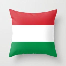 flag of hungary-hungary, hungarian, magyar,Magyarország, hungria,Budapest Throw Pillow