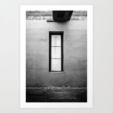 Lonely Window Art Print