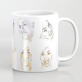 Dodger Faces Coffee Mug
