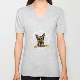 Circle of trust - German Shepherd Unisex V-Neck
