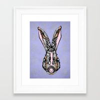 rabbit Framed Art Prints featuring Rabbit by SilviaGancheva
