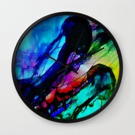 Vibrant Jellies Wall Clock