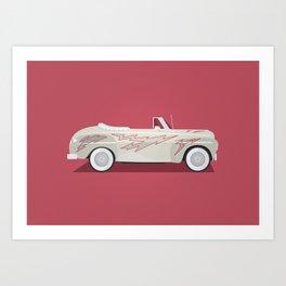 Grease Lightning Art Print
