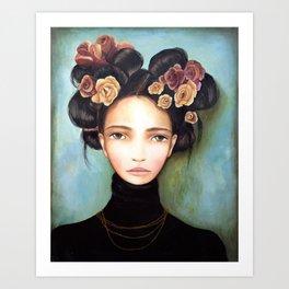 rosa Art Print