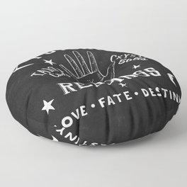 Psychic Readings Fortune Teller Art Floor Pillow