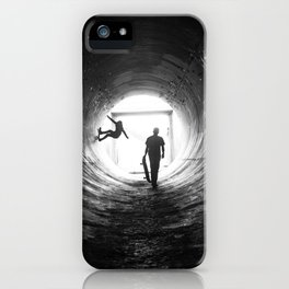 Kick. Push. Coast. iPhone Case