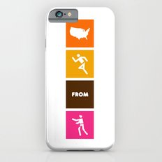 America Runs From Zombies iPhone 6s Slim Case