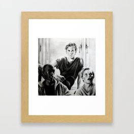 Glemte hvor da? Framed Art Print