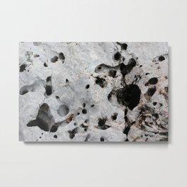 Stone is a hole Metal Print