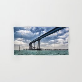 Coronado Bridge Hand & Bath Towel