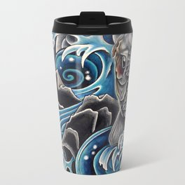 Koi by Sebastian Orth Metal Travel Mug
