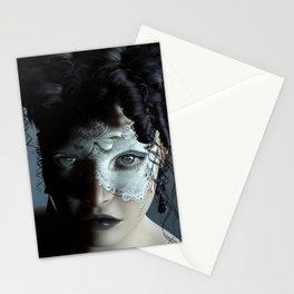 Midnight masquerade Stationery Cards