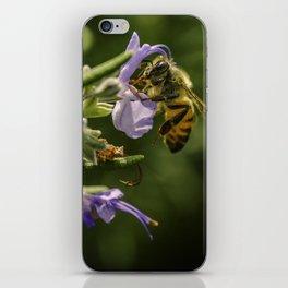 Bee at work iPhone Skin