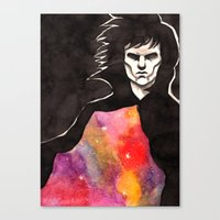 sandman Canvas Prints featuring Sandman by KrisiGeeArt