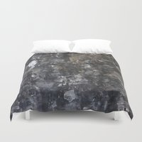 concrete Duvet Covers featuring Concrete by Crimson-daisies