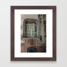 Rustic Walls of Mexico City | Travel Photography Framed Art Print