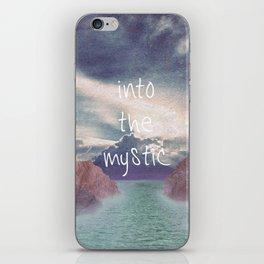 Into the Mystic (ANALOG zine) iPhone Skin