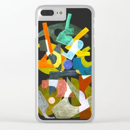 Cab - almost black Clear iPhone Case