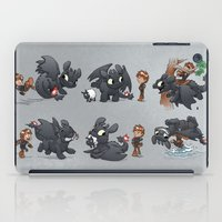 hiccup iPad Cases featuring How Not to Train Your Dragon by Dooomcat