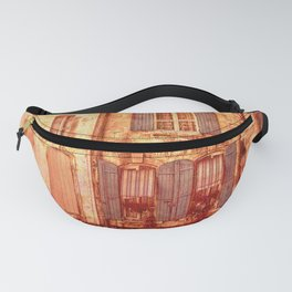 The Old Neighborhood, Rustic Buildings Fanny Pack