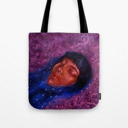 Float Among the Stars Tote Bag
