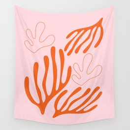 Mid century Botanical r5 Wall Tapestry