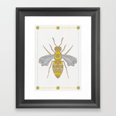 Mr Bee Framed Art Print