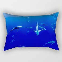 Sharks! Rectangular Pillow