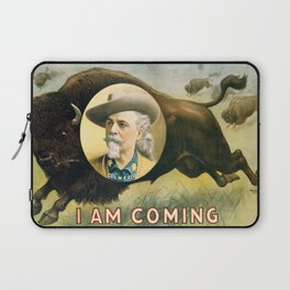 I Am Coming Laptop Sleeve