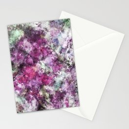 The quiet purple clouds Stationery Cards